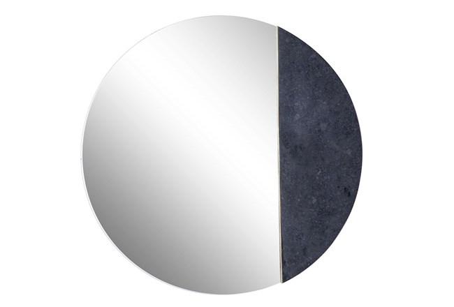 Wall Mirror-Round Black  - 360