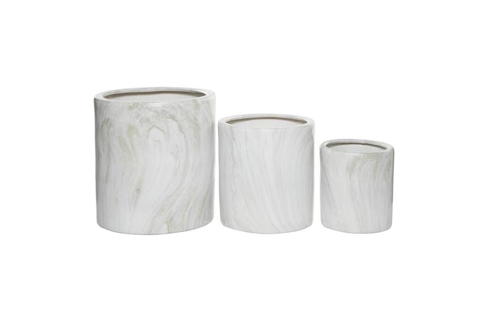 Ceramic Planter Set Of 3
