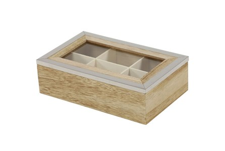 Rectangle Wood Jewelry Box
