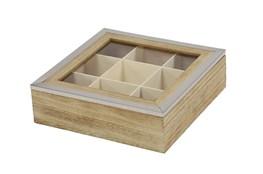 Square Wood Jewelry Box