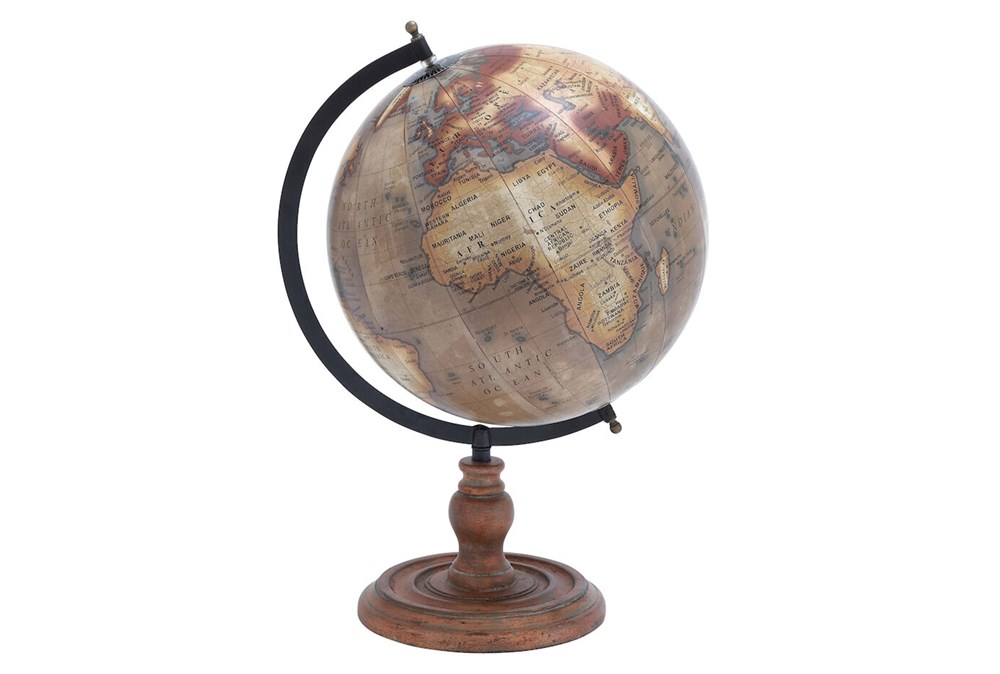 Copper Stand + Metal Globe