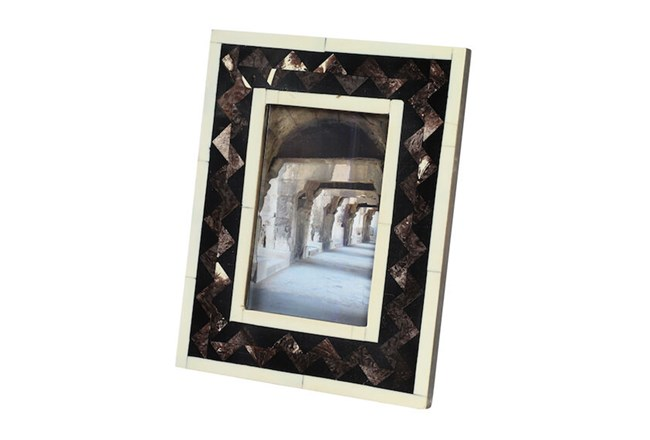 Black Inlay Picture Frame  - 360