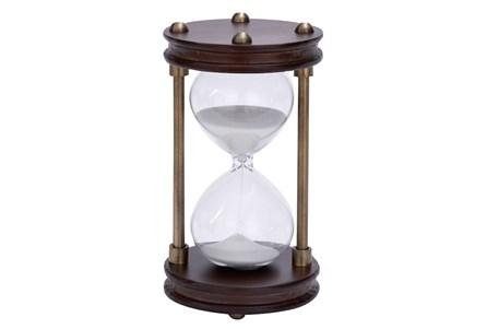 Wood Metal Glass Sand Timer