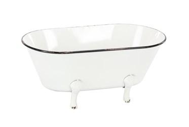 Metal Enamel Tub Flower Pot