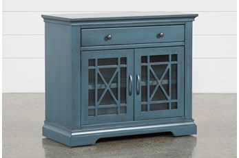 Belle Blue Accent Chest