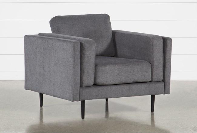 Aquarius II Dark Grey Chair - 360