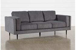 Aquarius II Dark Grey Sofa