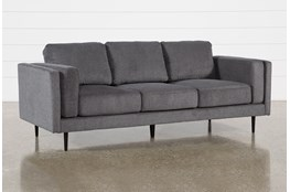 Aquarius II Dark Grey Sofa