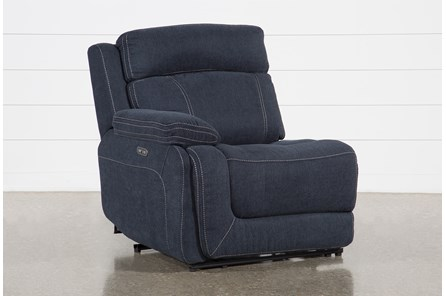 Levi Left Arm Facing Power Layflat Recliner With Power Headrest And Usb