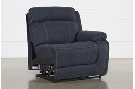 Levi Right Arm Facing Power Layflat Recliner With Power Headrest And Usb