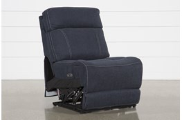 Levi Armless Power Layflat Recliner With Power Headrest