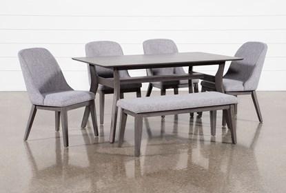 Terrific Dodge 6 Piece Dining Set Ibusinesslaw Wood Chair Design Ideas Ibusinesslaworg