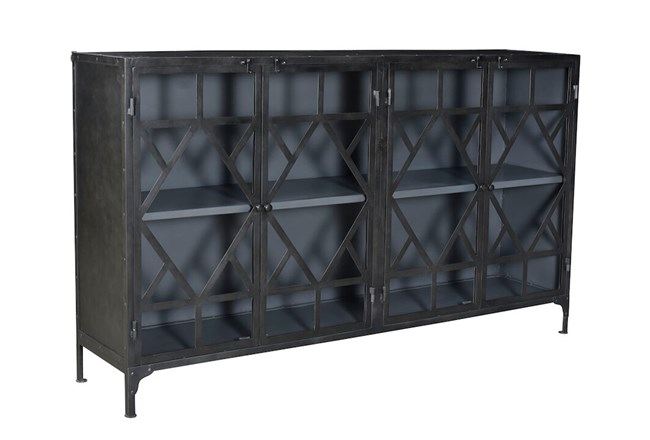 Black Metal + Black Sideboard  - 360