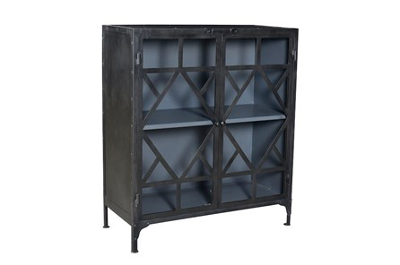 Black Metal + Black Cabinet