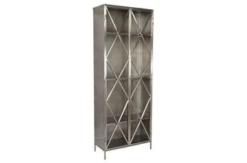 Gray Metal Cabinet