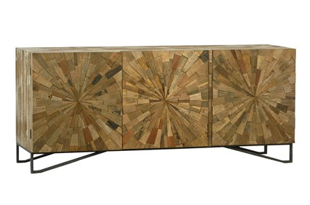 Natural Starburst Sideboard