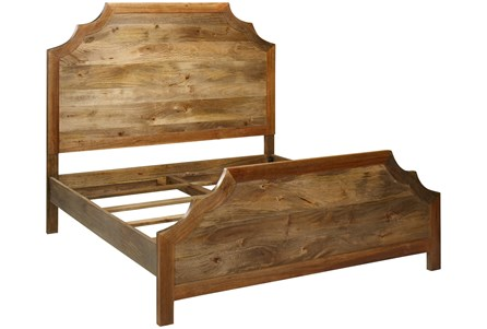 Kit-Reclaimed Wood Eastern King Bed