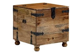 Natural Reclamed Wood Barbox Table