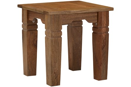 Shesham Wood End Table