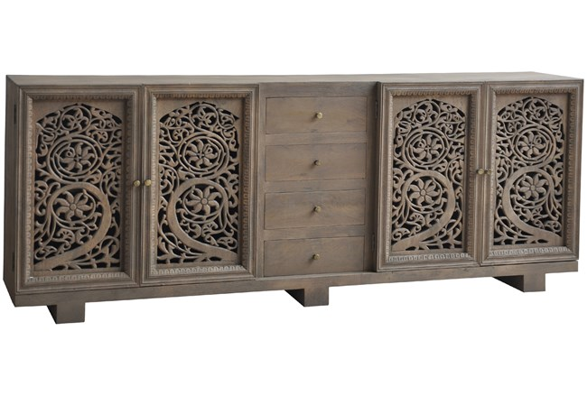 Reclaimed Wood Multi Drawer Chest Of Drawers  - 360