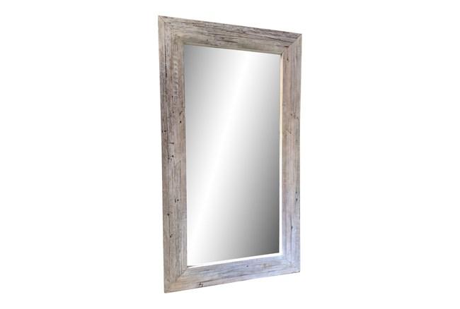 Vintage White Wash Mirror  - 360