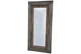 Vintage Cement Finish Mirror