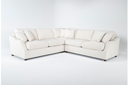 Magnolia Home Maison Homespun Cream 3 Pc Sectional By Joanna Gaines