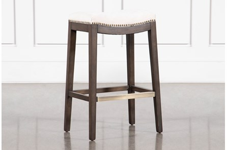 Hyatt Buff Bar Stool