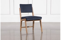 Marcella Azure Dining Side Chair