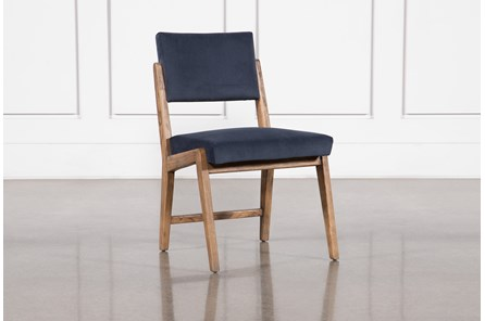 Marcella Azure Side Chair