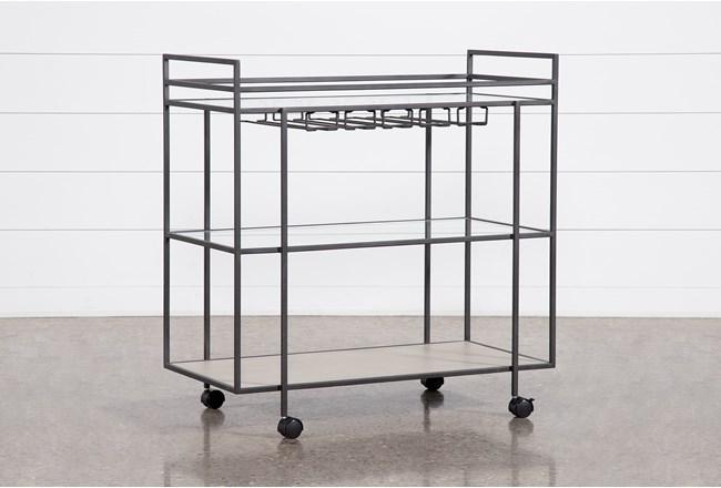 Azule Bar Cart - 360