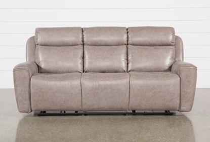 Super Valentin Latte Power Reclining Sofa With Power Headrest Usb Ibusinesslaw Wood Chair Design Ideas Ibusinesslaworg