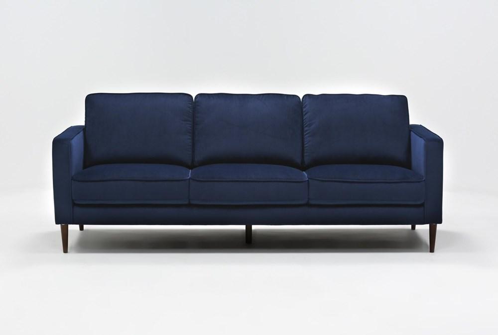 Fairfax Denim Velvet Sofa