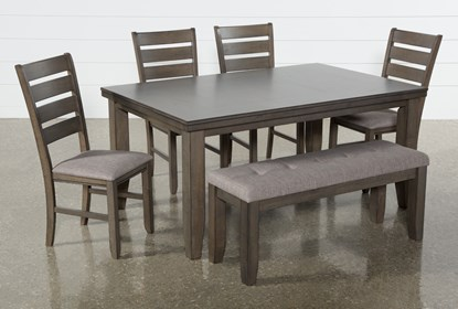 Ashford Ii 6 Piece Dining Set Living Spaces