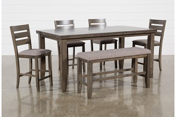 Ashford II 6 Piece Extension Counter Set