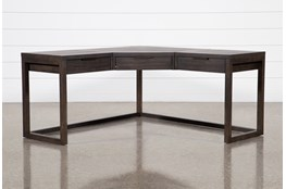 "Pierce Black Corner 62"" Desk"