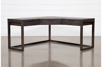 Pierce Espresso Corner Desk