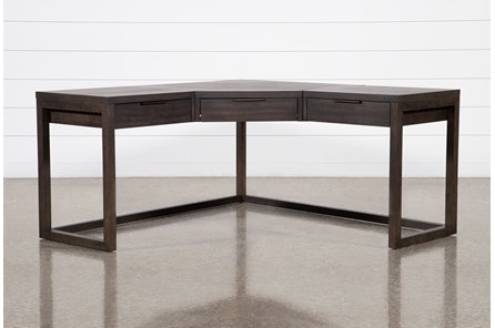 Pierce Black Corner Desk