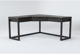 Pierce Espresso Corner Desk