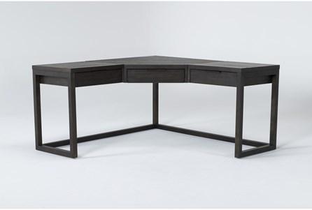 Pierce Espresso Corner Desk - Main