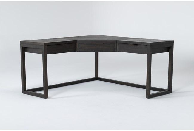 Pierce Espresso Corner Desk - 360