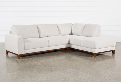 Awesome Amherst Cobblestone 2 Piece Sectional With Right Arm Facing Chaise Beatyapartments Chair Design Images Beatyapartmentscom