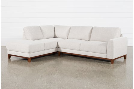 Amherst Cobblestone 2 Pc Sectional With Left Arm Facing Chaise