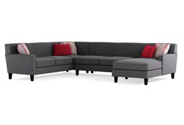 Dexter II 3 Piece Sectional W/Raf Chaise