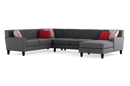 Dexter II 3 Piece Sectional with Right Arm Facing Chaise