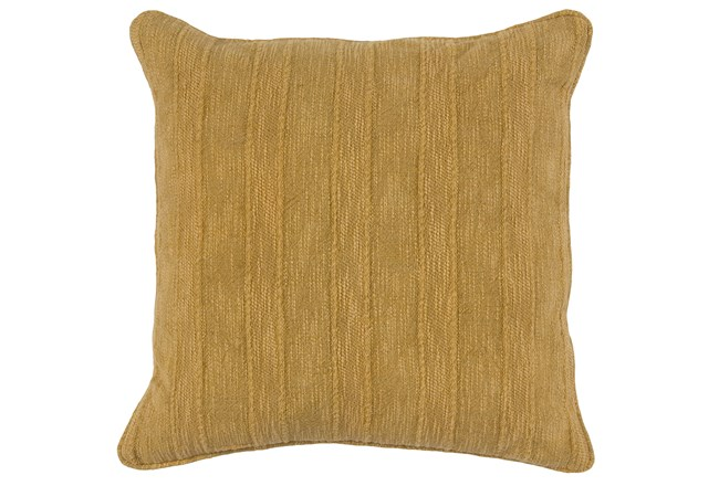 Accent Pillow-Heritage Linen Yellow 22X22 - 360