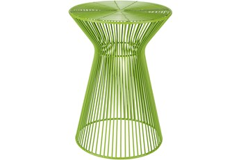 Lime Metal Stool