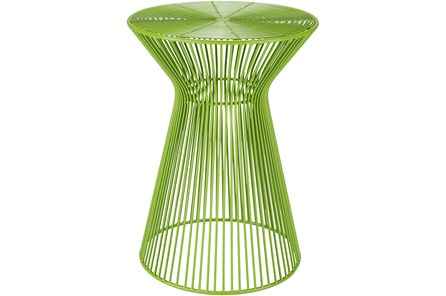 Lime Metal Stool - Main