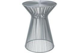 Grey Metal Stool