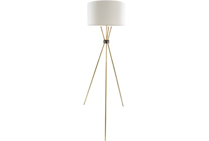 Floor Lamp Brass Tripod Living Spaces